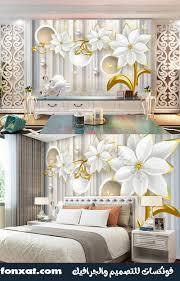 تحميل تصميمات ورق حائط ورد الياسمين الرائع بحجم كبير Fonxat Gfx