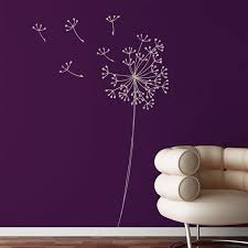 Adzif Mia107r751 Mia Co Snowdon Wall Decals Dandelion Wall Decal Wall Decals Wall Decor Decals