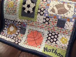 Pin by Myrna Williamson on Sports Quilts in 2020 | Football quilt, Baby  patchwork quilt, Sports quilts