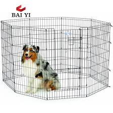 China Manufacturer Wholesale Welded Wire Mesh Large Dog Cage Dog Run Kennels Dog Run Fence Panels China Welded Wire Dog Fence Panels And Dog Run Kennel Panels Price