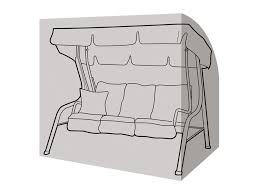 3 seater swing seat cover garden