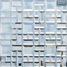 3d mirror glass mosaic tile for wall