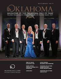 Oklahoma: Magazine of the Oklahoma Hall of Fame by Oklahoma Hall of Fame -  issuu