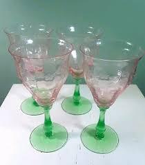 vintage depressing green glass salt