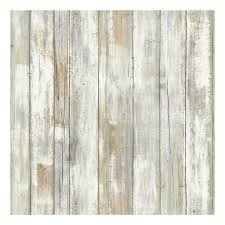 Roommates Faux Distressed Wood Peel Stick Wallpaper Wall Decal
