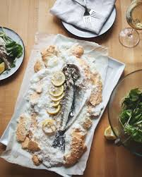 Salt Baked Fish with Fennel Escarole ...