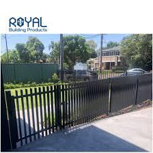 China Customized Designed Metal Aluminum Diy Screwed Installation Vertical Horizontal Slat Fence China Aluminum And Slat Price