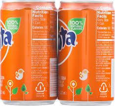 fanta caffeine free orange soda 7 5 fl