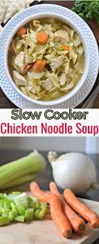 slow cooker homestyle en noodle