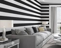 Stripe Wall Decal Etsy