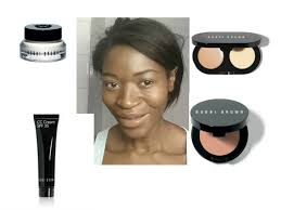 get a neutral look for dark skin