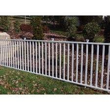 2 5 Ft H X 4 7 Ft W Madison No Dig Garden Fence Panel Garden Fence Panels Backyard Fences Garden Fence