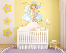 Inspirational Funk With Angel Wall Decals Vinyl Wall Decals Nursery Nursery Wall Decals Baby Room Decals