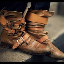 pirate leather boots