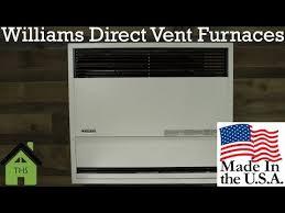 william furnace company direct vent