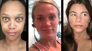 makeup free selfies from celebs who are