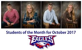 LBHS Students of the Month for October 2017 – Eagle Update