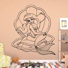 Little Mermaid Wall Decal Kuarki Lifestyle Solutions