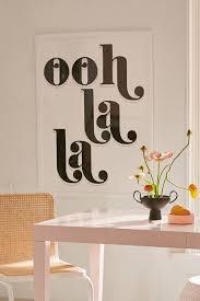 Honeymoon Hotel Ooh La La Art Print Urban Outfitters