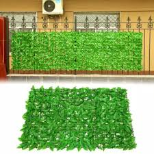 Privacy Screen Decorative Faux Leaves Gate Greenery Wall Uv Protection Greenhouse Backyard Outdoor Garden Indoor Home Artificial Fence Lazada Ph