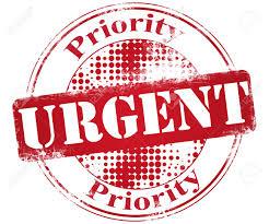 Prioridad Urgente Ilustración Sello Fotos, Retratos, Imágenes Y ...