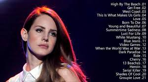 The Best of Lana Del Rey - Lana Del Rey Greatest Hits (Full Album ...