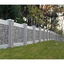 concrete garden boundary wall 9 inch