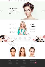 makeup artist template