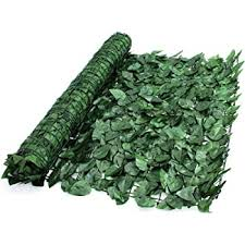 Welsh Green Screens Artificial Screening Ivy Leaf Hedge Panels On Roll Privacy Garden Fence 1m X 3m Green Faux Trellis Balcony Screening 1 5 Amazon Co Uk Garden Outdoors