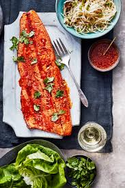 Grilled Crisp-Skinned Salmon with ...