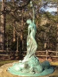 Statue of Juliet V. Strauss, journalist, created by Indiana sculptor, Myra  Reynolds Richards - Picture of Turkey Run State Park, Marshall - Tripadvisor