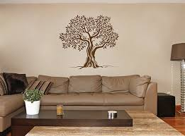 Old Olive Tree Wall Decals Olive Tree Decal Olive Tree Mural Etsy
