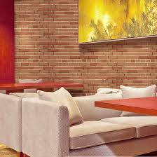 design wall paper 3d brick wallpaper