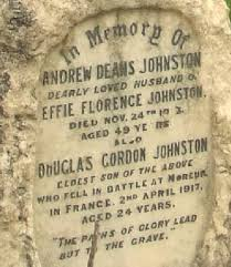 Cambridge City Cemetery, Cambridge, Cambridgeshire War Graves D. G. JOHNSTON