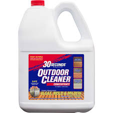 30 Seconds Outdoor Algae Mold Mildew Cleaner 2 5 Gal Ace Hardware