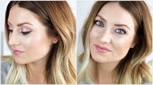 spring makeup tutorial for blue eyes