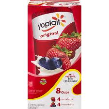 yoplait original low fat yogurt variety