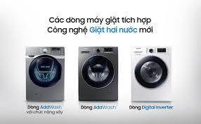 QC] Samsung trình làng dòng sản phẩm máy giặt cửa trước tích hợp ...