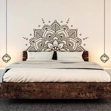 Pin By Anastasia G On Art Wall Decals For Bedroom Headboard Decal Headboard Wall