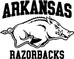 Amazon Com Tdt Printing Custom Decals Arkansas Razorbacks Vinyl Decal Sticker For Car Or Truck Windows Laptops Etc Automotive