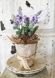 french country lavender pots