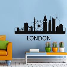 High Quality Removable Travel Europe City Wall Decal Sticker Home Decor Sticker London Collection Gw 31 Stickers London Wall Decals Stickershome Decor Stickers Aliexpress