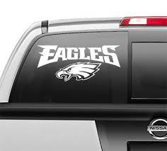 Philadelphia Eagles Window Sticker Vinyl Decal Any Size Any Color Ebay