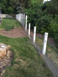 Semi Privacy Posts With A Concrete Moe Palisade Fencing Facebook