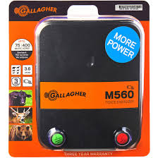 Gallagher Electric Fence Energizer M560 5 6 Joule Business Industrial Fencing Alberdi Com Mx