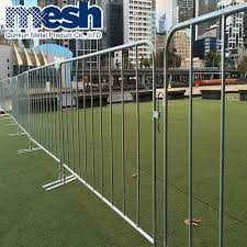 China Steel Tube Temporary Fence Removable Fence Panels China Access Control Barrier Barrier Gate Control Board