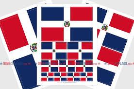 Dominican Republic Flag Sticker Weatherproof Vinyl Dominican Republ Saveonflags Com