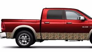 Product Camouflage Camo Wrap Rocker Panel Realtree Vinyl Decal Fits To Ram Tundra F150