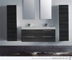 modern bathroom vanity double sink