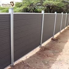 China High Quality Durable Outdoor Wpc Garden Zone Fence Photos Pictures Made In China Com